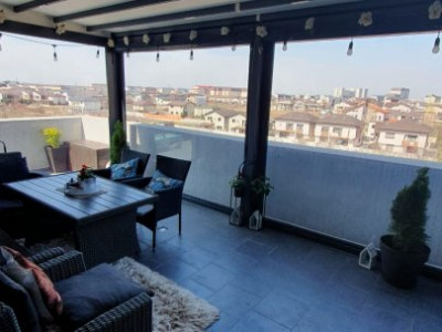 Apartament 3 camere semidecomandat, terasa amenajata- direct propietar