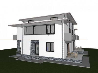 Vila duplex-4 camere-terasa,teren 200mp-Bragadiru-Haliu