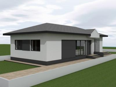 Casa individuala-Cornetu-Mutare rapida-Asfalt-Teren 300 mp