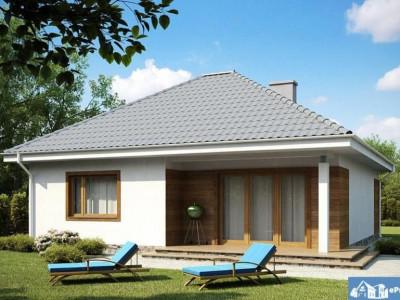 Casa individuala superba- 3 camere- Strada asfaltata si iluminata- Stb- Domnesti